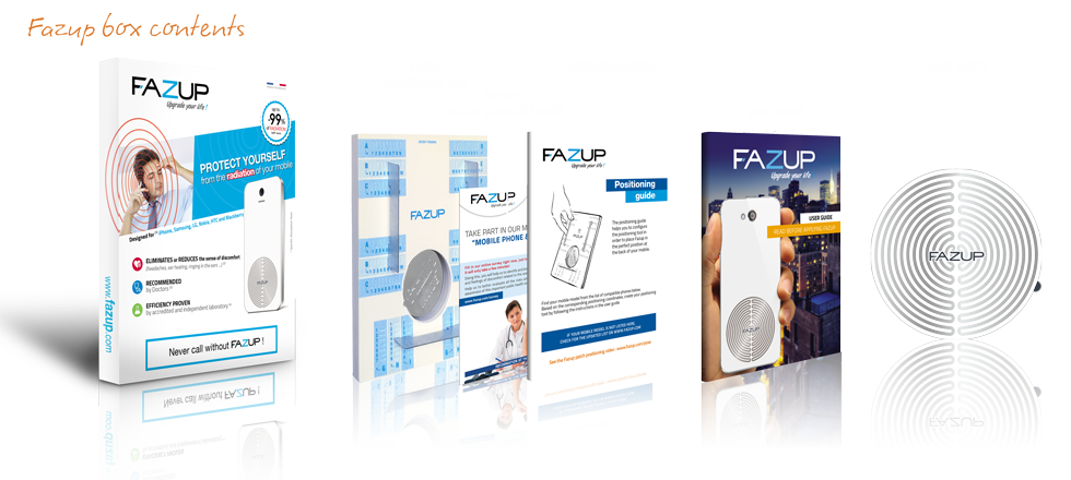 Fazup - Protect yourself from radiation ! - Fazup